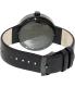 Vestal Men's Roosevelt ROS3L002 Black Leather Analog Quartz Watch - Back Image Swatch