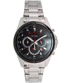 Citizen Men's Chronograph AN8041-51E Black Stainless-Steel Quartz Watch