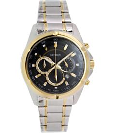Citizen Men's AN8044-53E Black Stainless-Steel Quartz Watch