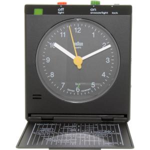 Braun Men's  Clock BNC005BKBK
