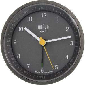 Braun Men's  Clock BNC007GYGY