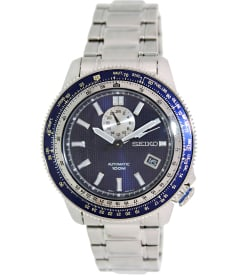 Seiko Men's Superior SSA001K Blue Stainless-Steel Automatic Watch