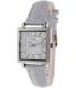 Timex Women's Dress T2P378 Silver Leather Quartz Watch - Main Image Swatch