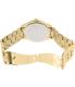 Michael Kors Women's Slim Runway MK3264 Gold Stainless-Steel Quartz Watch - Back Image Swatch