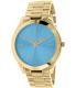 Michael Kors Women's Slim Runway MK3265 Blue Stainless-Steel Quartz Watch - Main Image Swatch