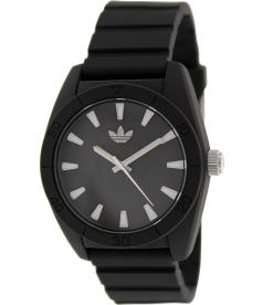 Adidas Men's Santiago ADH2922 Black Silicone Quartz Watch