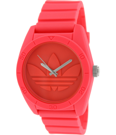 Adidas Men's Santiago ADH2936 Pink Silicone Quartz Watch