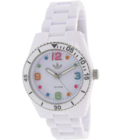 Adidas Women's Brisbane ADH2941 White Plastic Quartz Watch