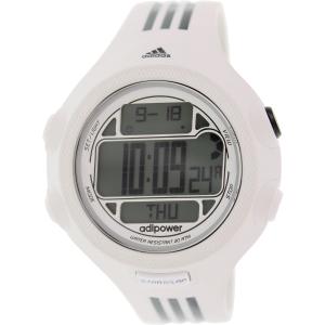 Adidas Men's Adipower ADP3128 White Rubber Quartz Watch