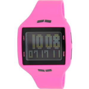 Vestal Women's Helm HLMDP07 Pink Rubber Quartz Watch
