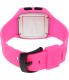 Vestal Women's Helm HLMDP07 Pink Rubber Quartz Watch - Back Image Swatch