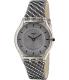 Swatch Women's Skin SFM127 Grey Leather Swiss Quartz Watch - Main Image Swatch