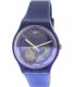 Swatch Men's Originals SUON105 Blue Silicone Swiss Quartz Watch - Main Image Swatch