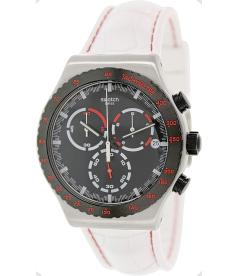 Swatch Men's Irony YVS407 Black Rubber Swiss Quartz Watch