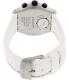 Swatch Men's Irony YVS407 White Rubber Swiss Quartz Watch - Back Image Swatch