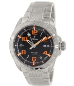 Festina Men's F16490/4 Black Stainless-Steel Quartz Watch