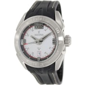 Festina Men's F16505/1 Silver Rubber Quartz Watch