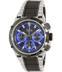 Festina Men's Chrono Bike F16775/5 Black Stainless-Steel Quartz Watch