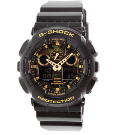 Casio Men's G-Shock GA100CF-1A9 Black Rubber Quartz Watch