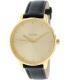 Nixon Women's Kensington A108501 Gold Leather Quartz Watch - Main Image Swatch