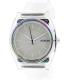 Nixon Women's Time Teller P A1191779 Transparent Plastic Quartz Watch - Main Image Swatch