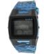 Nixon Men's Lodown Ii A2891628 Blue Rubber Quartz Watch - Main Image Swatch