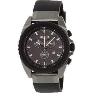 Nixon Men's Rover A2901531 Black Rubber Quartz Watch