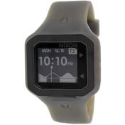 Nixon Men's Supertide A3161783 Grey Silicone Quartz Watch