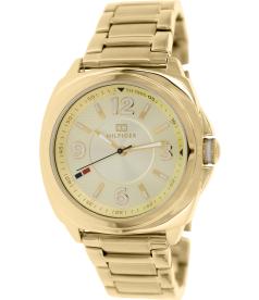 Tommy Hilfiger Women's 1781340 Gold Stainless-Steel Analog Quartz Watch