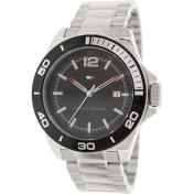 Tommy Hilfiger Men's 1790932 Black Stainless-Steel Analog Quartz Watch