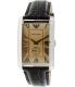 Emporio Armani Men's Classic AR1605 Gold Leather Analog Quartz Watch - Main Image Swatch
