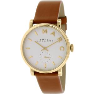 Marc by Marc Jacobs Women's Baker MBM1316 Brown Leather Swiss Quartz Watch