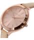 Michael Kors Women's Runway MK2274 Brown Leather Quartz Watch - Side Image Swatch