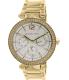 Michael Kors Women's Parker MK5780 Gold Stainless-Steel Quartz Watch - Main Image Swatch