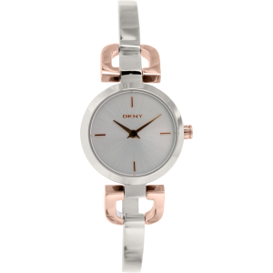 Dkny Women's D-Link NY2137 Silver Stainless-Steel Quartz Watch