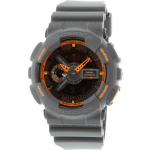 Casio Men's G-Shock GA110TS-1A4 Dark Grey Resin Quartz Watch