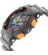 Casio Men's G-Shock GA110TS-1A4 Dark Grey Resin Quartz Watch - Side Image Swatch