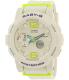 Casio Women's Baby-G BGA180-7B2 White Rubber Quartz Watch - Main Image Swatch