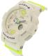 Casio Women's Baby-G BGA180-7B2 White Rubber Quartz Watch - Side Image Swatch