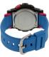 Casio Women's Baby-G BGD180-2 Blue Resin Quartz Watch - Back Image Swatch