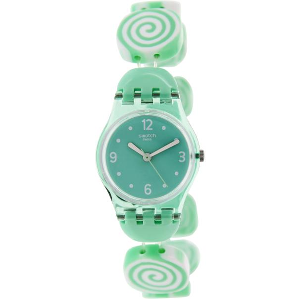 swatch s originals lg126b green plastic swiss quartz