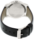 Movado Men's Museum 0606610 Blue Leather Swiss Quartz Watch - Back Image Swatch