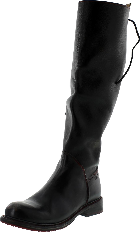 Women S Bed Stu Knee High Boots Black