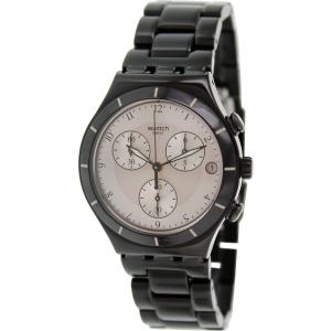 Swatch Men's Irony YCB4026AG Black Aluminum Swiss Quartz Watch