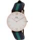 Daniel Wellington Women's Warwick 0553DW Blue Nylon Quartz Watch - Main Image Swatch
