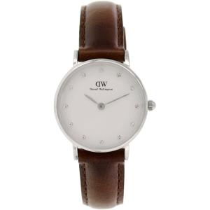 Daniel Wellington Women's Bristol 0923DW Brown Leather Quartz Watch