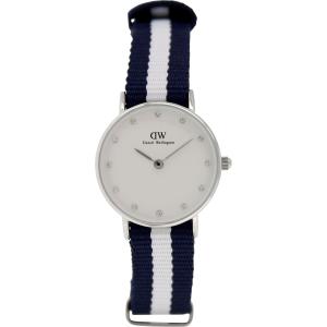Daniel Wellington Women's Glasgow 0928DW Blue Nylon Quartz Watch