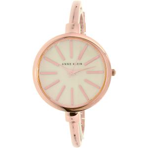 Anne Klein Women's AK-1470RGST Rose Gold Stainless-Steel Analog Quartz Watch