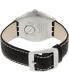 Swatch Men's Irony YWS403C Black Leather Swiss Quartz Watch - Back Image Swatch