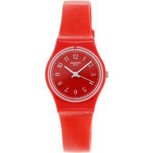 Swatch Women's Originals LR127 Red Plastic Swiss Quartz Watch